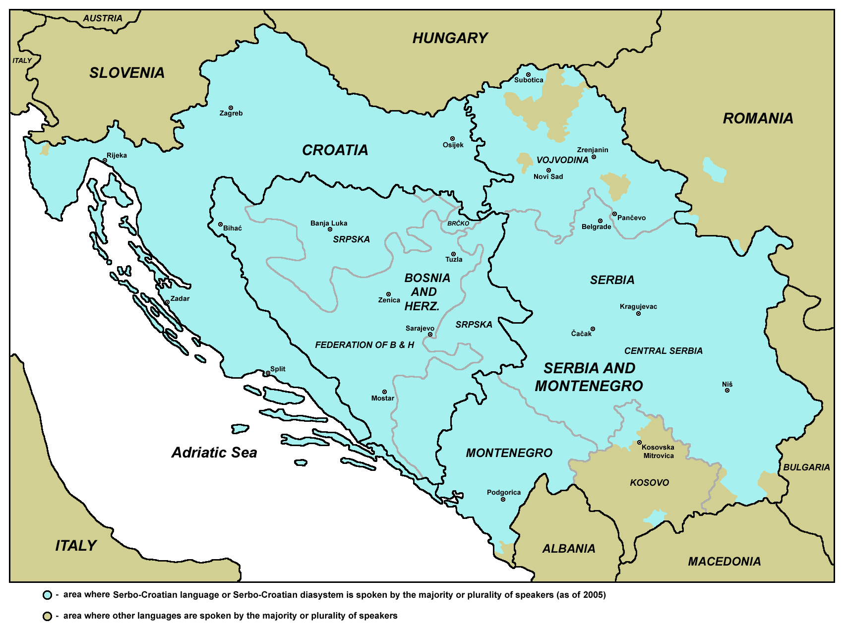 Are Serbian, Croatian, Macedonian, Montenegrin, Bosnian and Slovenian Mutually Intelligible?