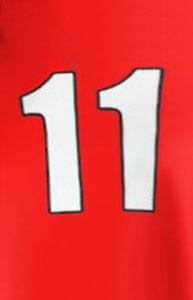 11 – jedanaest – number eleven in Serbian
