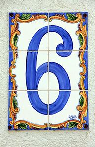 6 - šest - Number six in Serbian
