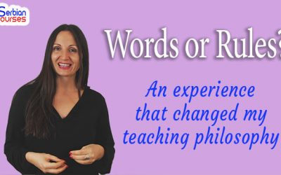 Vocabulary vs Grammar: An experience that changed my teaching philosophy